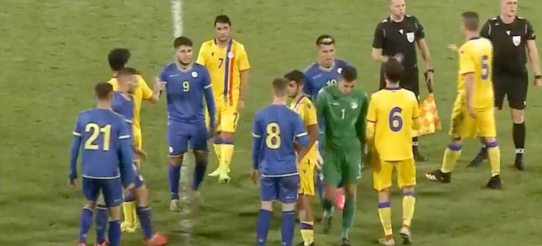 La U21 d'Andorra perd a Kosovo 1-0
