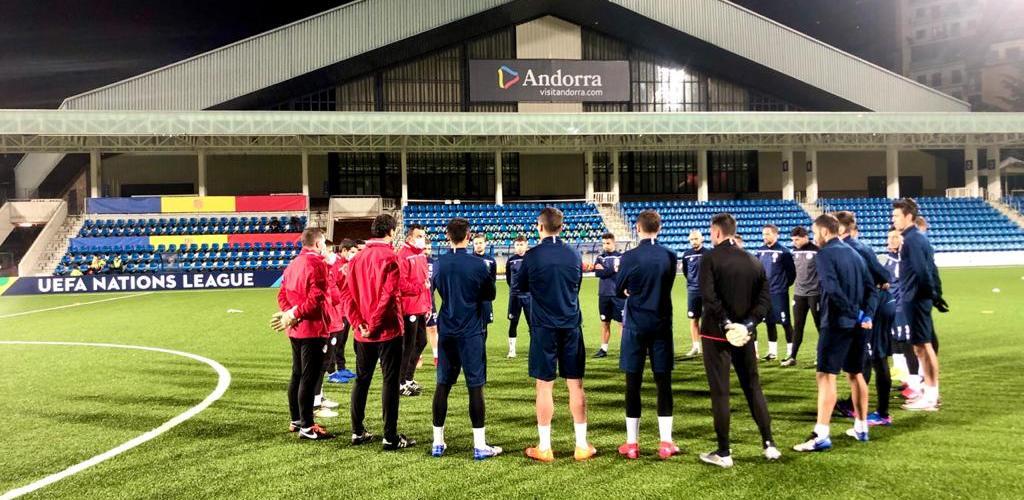 Andorra tanca la Nations League davant Letònia