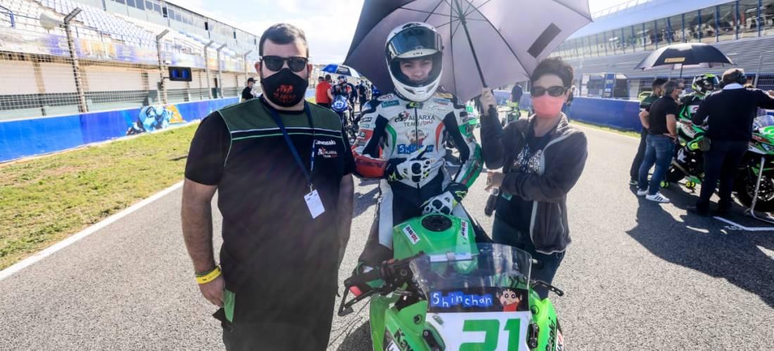 Raposeiras finalitza 23è la primera de les curses a Jerez