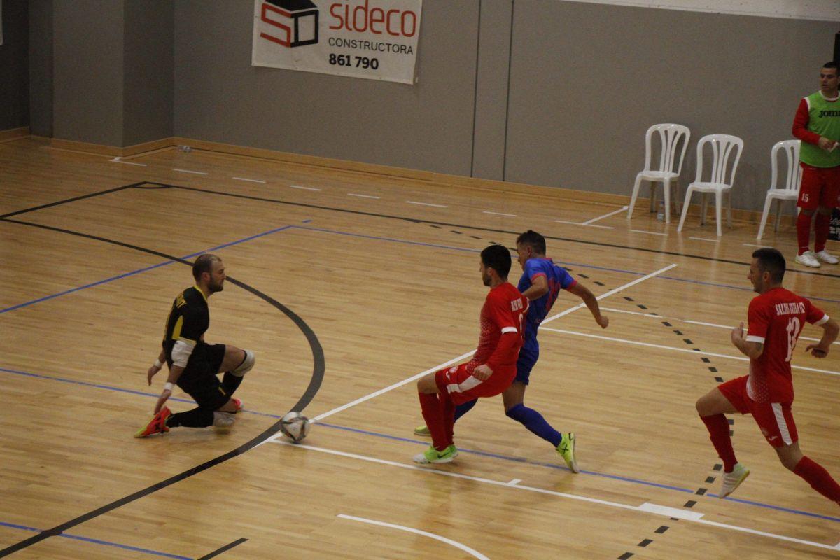Derrota del Sideco FC Encamp a la ronda prèvia de la Champions League de Futsal