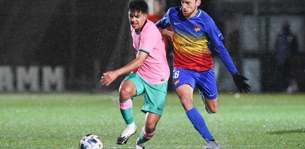 Victòria de l'FC Andorra 1-0 davant el Barça B