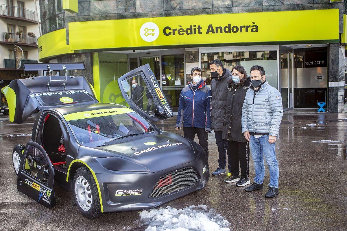 Presentada les Crèdit Andorrà GS