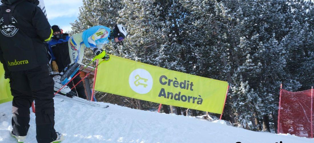 Mijares i Rius, campions d'Andorra d'eslàlom