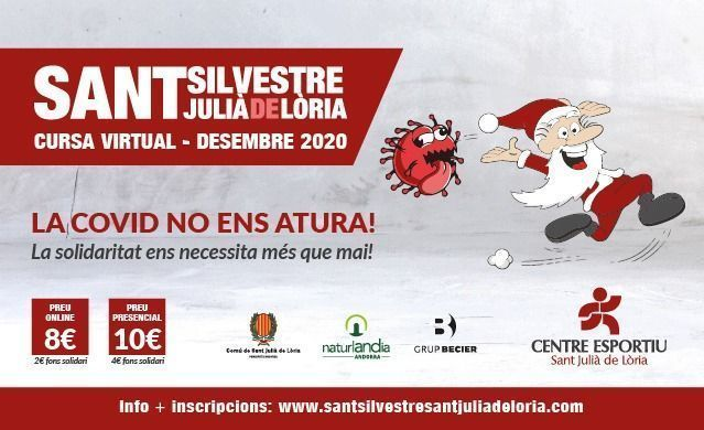 La Sant Silvestre de Sant Julià de Lòria espera les inscripcions per aquestes Festes de Nadal