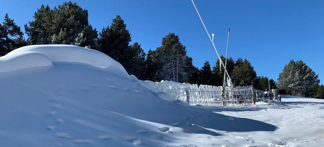 Dimarts, obrirà l'estació d'esquí de fons de la Rabassa