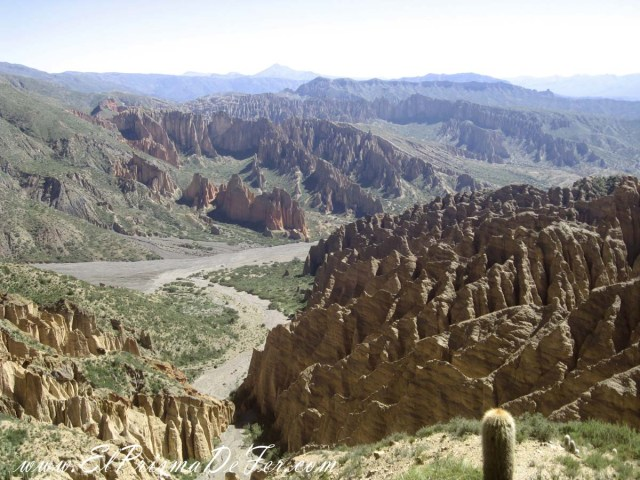 Mirador El Sillar - Salar de Uyuni