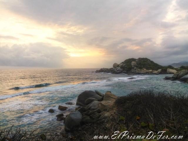 Amanecer desde Cabo San Juan