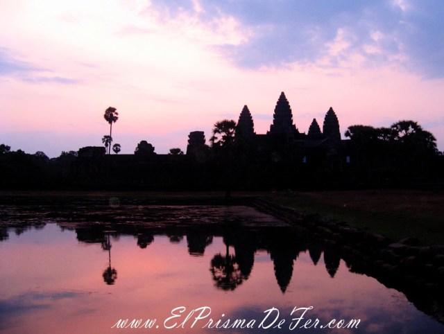 Aclarando en Angkor Wat