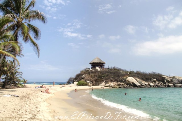 Cabo San Juan en Parque Tayrona
