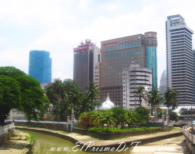 Mas contrastes de Kuala Lumpur