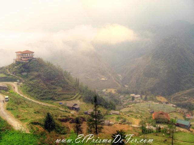 Increíbles vistas de los valles en Sapa