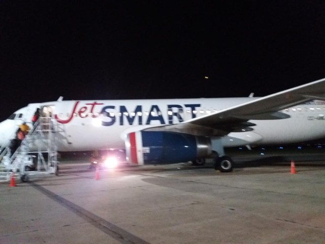 Avion de JetSmart