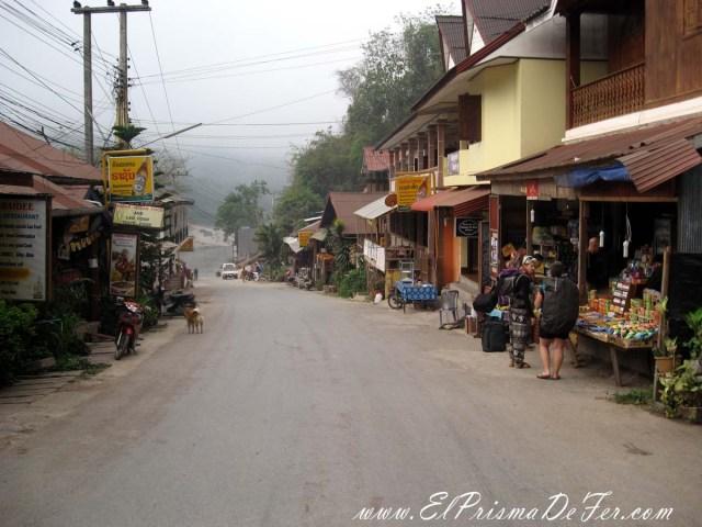 Calle principal de Pankbeng