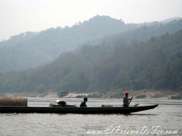 Pescadores en el Mekong