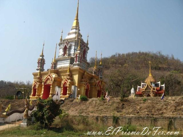 Uno de los templos en el Parque Nacional Doi Inthanon