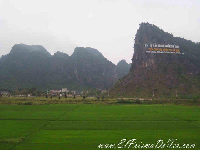 Entrada al  Parque nacional Phong Nha-Ke Bang