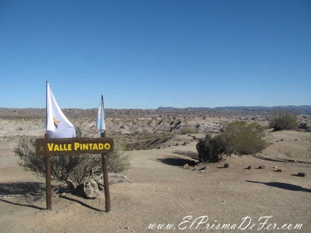 Valle Pintado en Ischigualasto