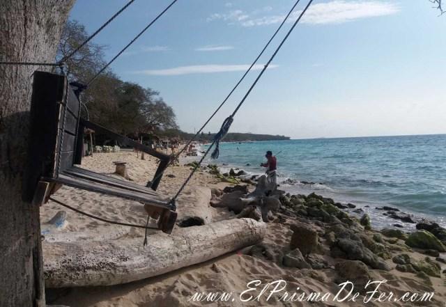 Hamaca en Playa Blanca