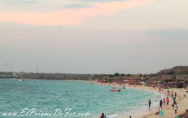 Playa Blanca en Isla Barú