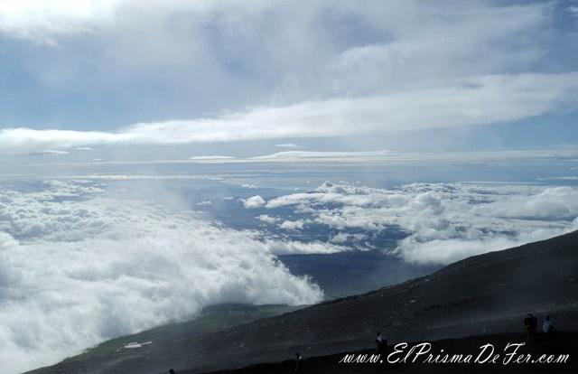Vistas desde el Monte Fuji