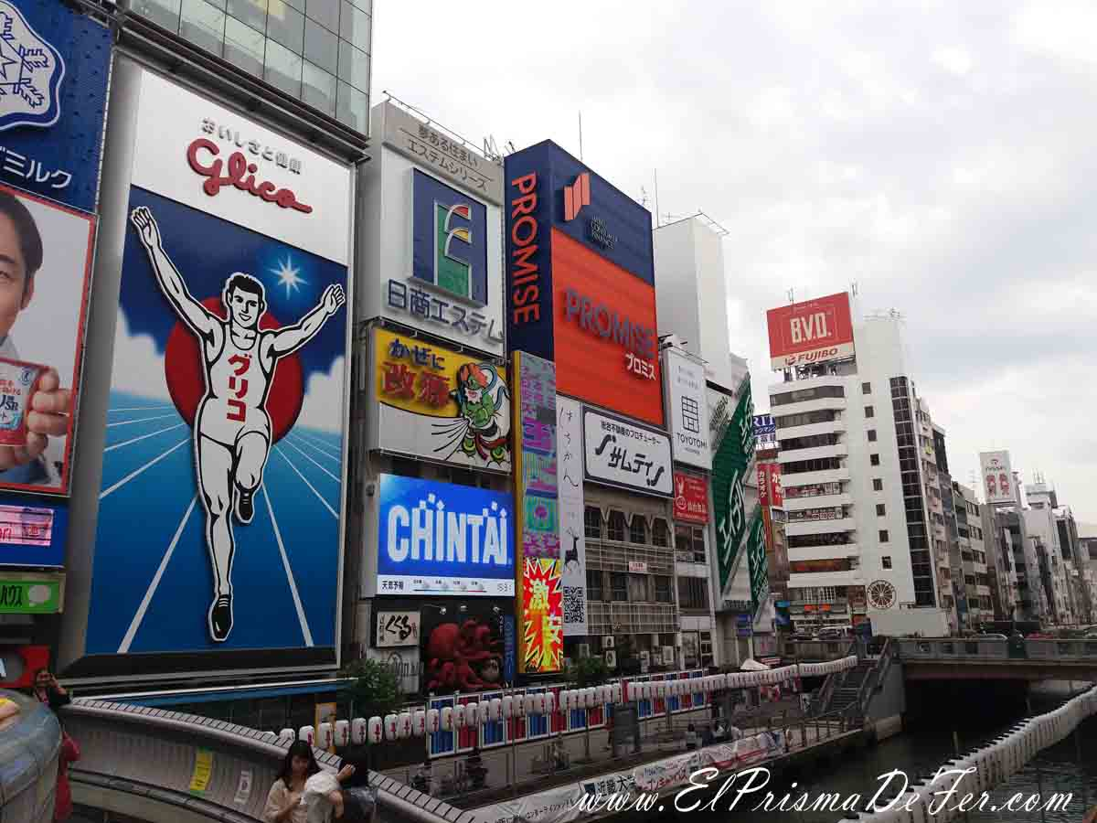 Glico Man en Dotonbori. Osaka