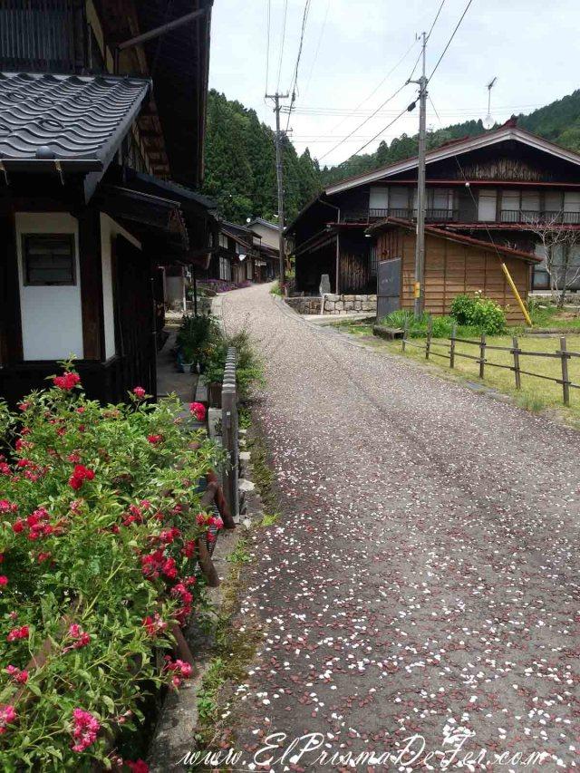 Pueblo de Otsumago en la Ruta Nakasendo