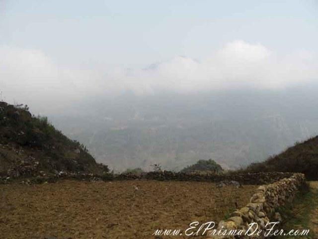 Vistas del trekking por el lado norte de Sapa