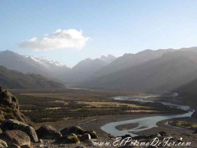 Vistas al valle del Río De las Vueltas