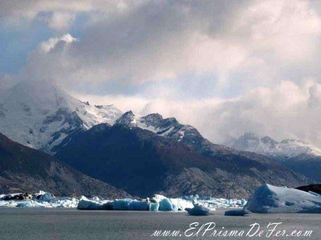Hielos sobre el Lago Argentino