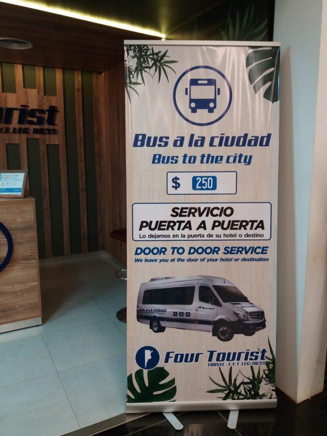 Empresa de traslados desde y hacia el aeropuerto de Puerto Iguazú