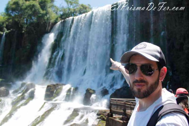 Salto San Martín en Cataratas del Iguazú