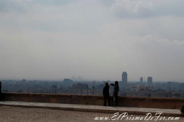Panorámicas de El Cairo desde las terrazas de la ciudadela de Saladino