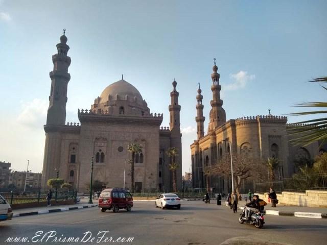 Mezquita del Sultan Hassan en El Cairo Islámico