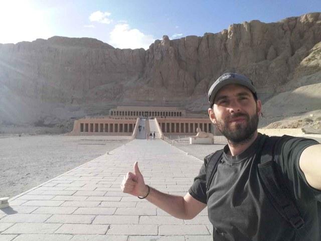 Afueras del Templo Hatshepsut