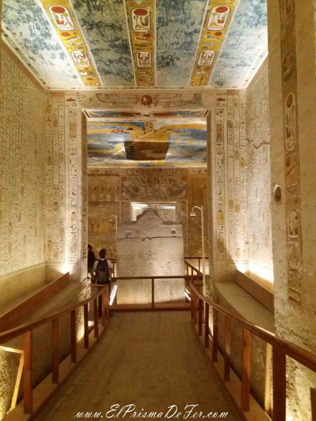 Tumba de Ramses IV, en el Valle de los Reyes