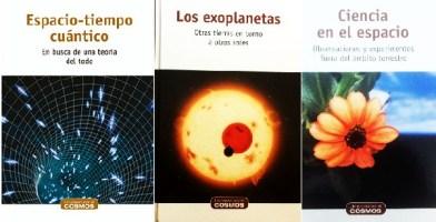 """Libros colección """"Un paseo por el Cosmos"""" (RBA)"""