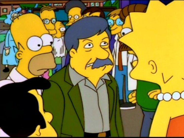 Stephen Jay Gould en Los Simpson