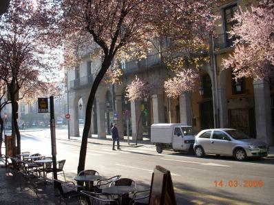 Centro de Girona, Cataluña, España