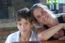 La mamá y el nene