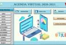 Excelente Agenda Virtual: 2020 -2021,para organizar nuestras actividades pedagógicas diarias y otros.