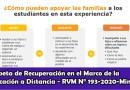 Carpeta de Recuperación según la RVM N° 193-2020-MINEDU en el Marco de la Educación a Distancia [Descarga aquí][PDF]
