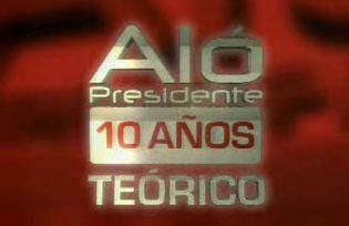NACE EL ALO PRESIDENTE TEORICO