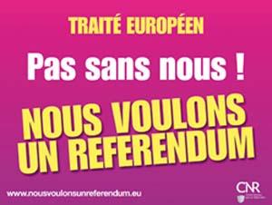 Queremos un referendum