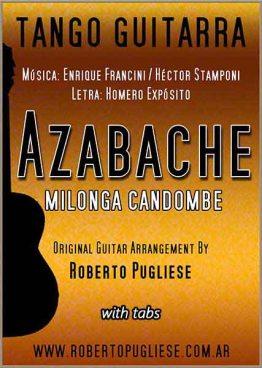 Tapa de Azabache partitura de guitarra