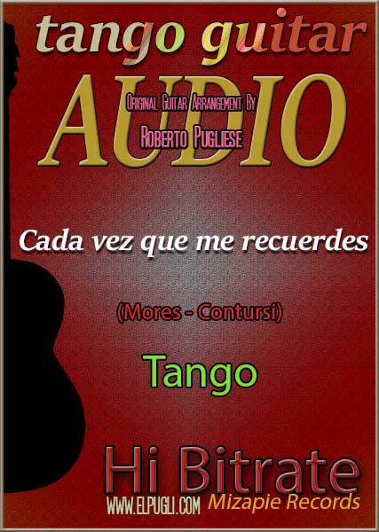 Cada vez que me recuerdes mp3 tango en guitarra Roberto Pugliese