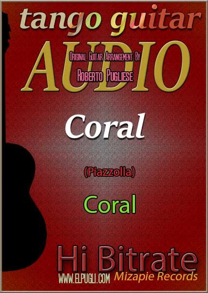 Coral mp3 coral de Piazzolla en guitarra por Roberto Pugliese