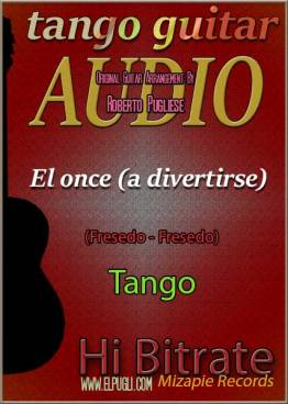 El once mp3 tango en guitarra por Roberto Pugliese