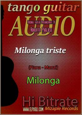 Milonga triste mp3 milonga en guitarra