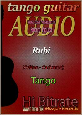 Rubi mp3 tango en guitarra por Roberto Pugliese