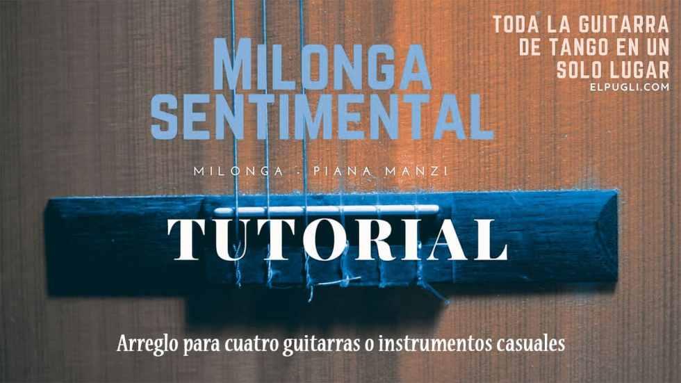Milonga sentimental-cuatro-guitarras